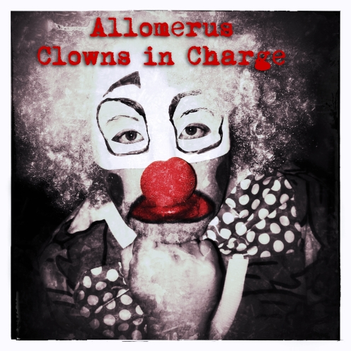 front cover clowns in charge